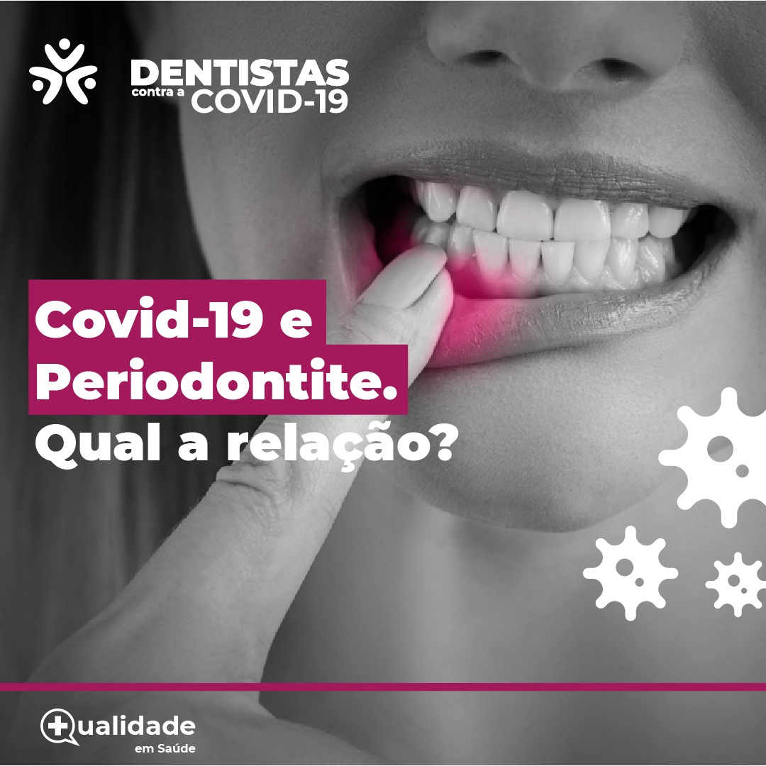 pessoas com covid e periodontite